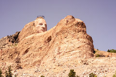 The Crazy Horse Monument Overlooks the Black Hills of South Dakota, USA Royalty Free Stock Photos