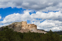 Crazy Horse monument Stock Photo