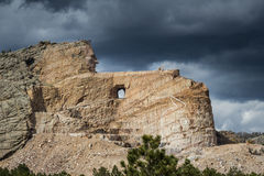 Crazy Horse monument Royalty Free Stock Photo