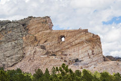 Crazy Horse monument Stock Photography
