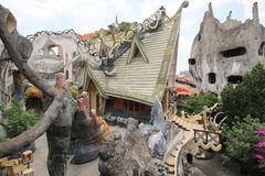 Crazy House in Da Lat, Vietnam Royalty Free Stock Photography
