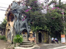 Crazy House, Dalat, Vietnam Royalty Free Stock Image