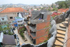 Crazy House in Dalat, Vietnam Royalty Free Stock Images