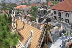 Crazy House in Dalat, Vietnam Royalty Free Stock Photography