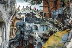 Free Crazy House In Dalat Royalty Free Stock Photo - 142726005