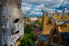 Crazy house in Vietnam Royalty Free Stock Photos