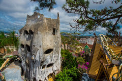 Crazy house in Vietnam Royalty Free Stock Photography