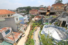 Crazy House in Vietnam Da Lat Royalty Free Stock Images
