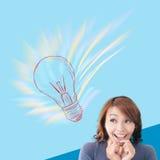 Crazy idea Stock Image