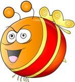 Crazy Insane Bee Vector Stock Photography