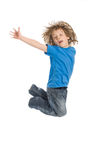 Crazy kid Royalty Free Stock Photos