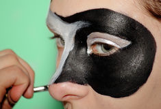 Crazy make-up Stock Images