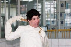 Crazy man Stock Photography