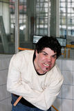 Crazy man Royalty Free Stock Photo
