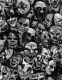 Crazy Masks. Crazy and scary masks for sale at the state fair royalty free stock image