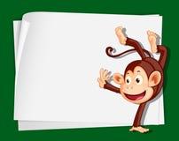 Crazy monkey Royalty Free Stock Photos