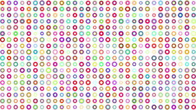 Crazy multicolor color squares stock video