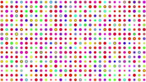 Crazy multicolor color squares stock video footage