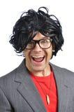 Crazy nerd stock photos