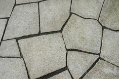 Crazy paving. Useful for a real background Royalty Free Stock Image