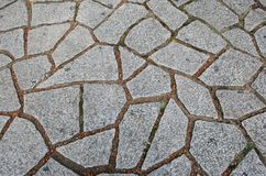 Crazy paving background. Abstract background of stone crazy paving Stock Photos