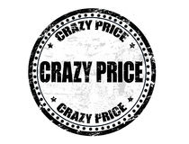 Crazy price stamp Stock Photos