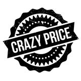 Crazy price stamp Stock Photography