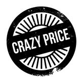 Crazy price stamp Royalty Free Stock Photo