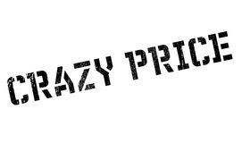 Crazy price stamp Royalty Free Stock Photography