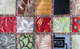 Crazy quilt Royalty Free Stock Image