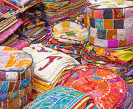 Crazy quilt Stock Photography
