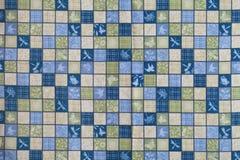 Crazy quilt Stock Photo