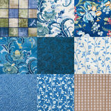 Crazy quilt Stock Image
