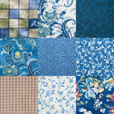 Crazy quilt Royalty Free Stock Photography