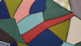 Free Crazy Quilt Patchwork Pattern Stock Image - 76210561
