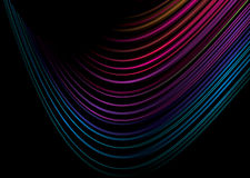 crazy rainbow swirl Στοκ Εικόνα