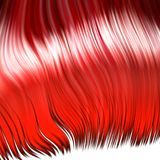 Crazy red wig Royalty Free Stock Photos