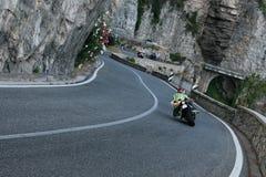 Crazy rider Stock Image