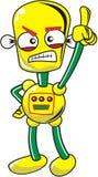Crazy Robot Royalty Free Stock Photos