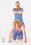 Crazy Sailor Boys Stock Photography