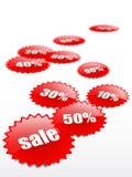 Crazy sale stock illustration