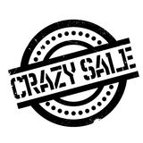 Crazy Sale rubber stamp Royalty Free Stock Photo