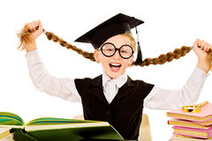Crazy school Stock Image