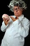 Crazy Scientist Royalty Free Stock Image