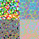 Crazy seamless pattern Royalty Free Stock Photography