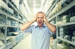 Crazy shopping Stock Photos