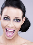 Crazy smile Royalty Free Stock Photography