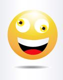 Crazy Smiley Stock Images