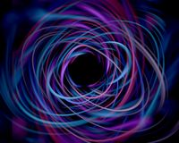 Crazy string. Abstract of colors in motion vector illustration