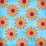 Crazy Summer Daisies Background Stock Photos